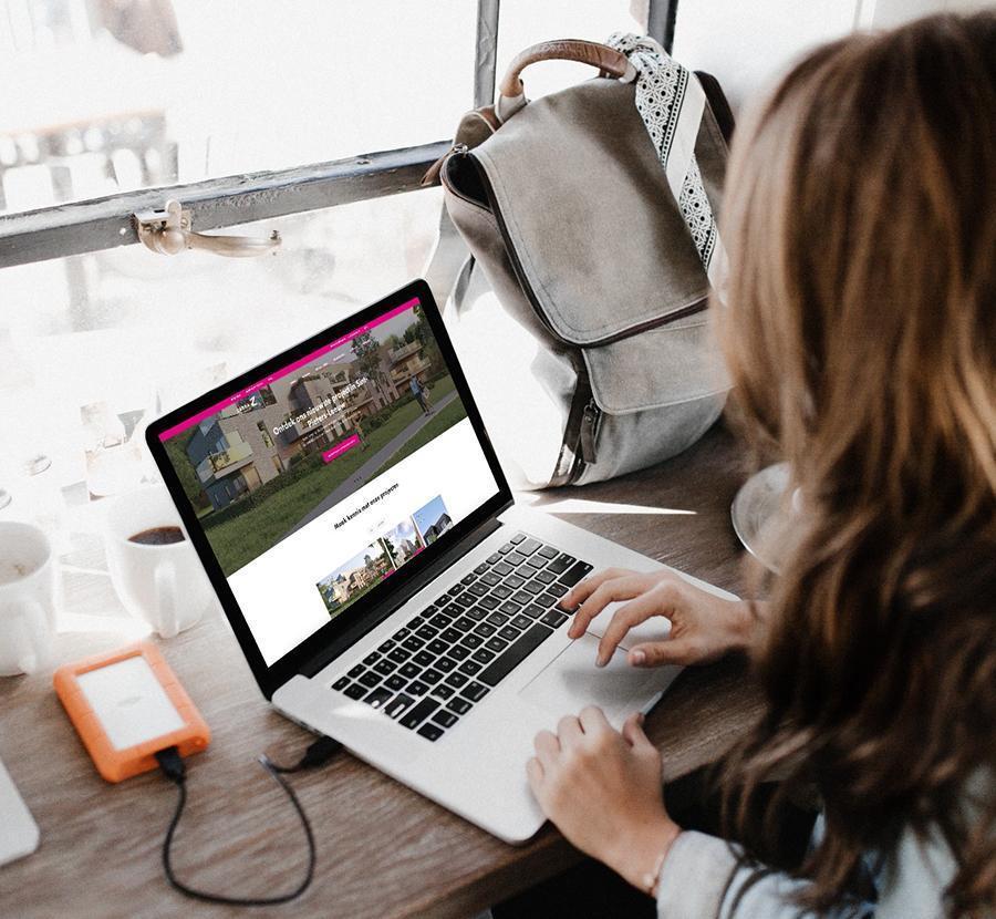 webdesign van grafisch bureau te Kortrijk