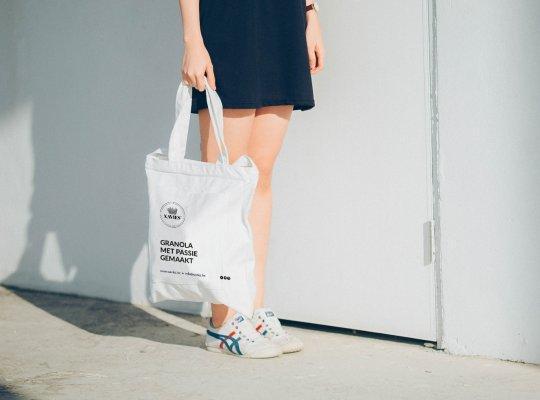 Plastiek zak laten bedrukken met logo door Easybranding