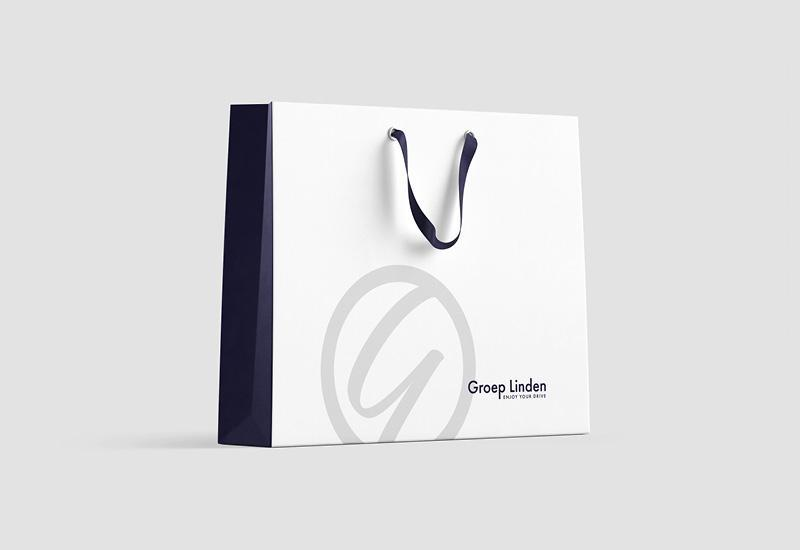 Brand design draagtas