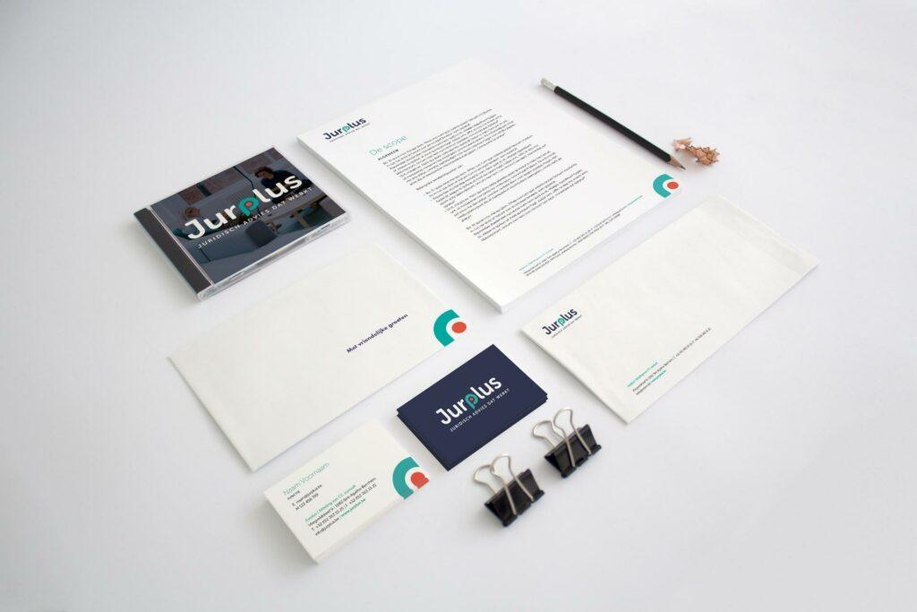 Creatief bureau Easybranding staat in voor het grafisch ontwerp van je huisstijl.