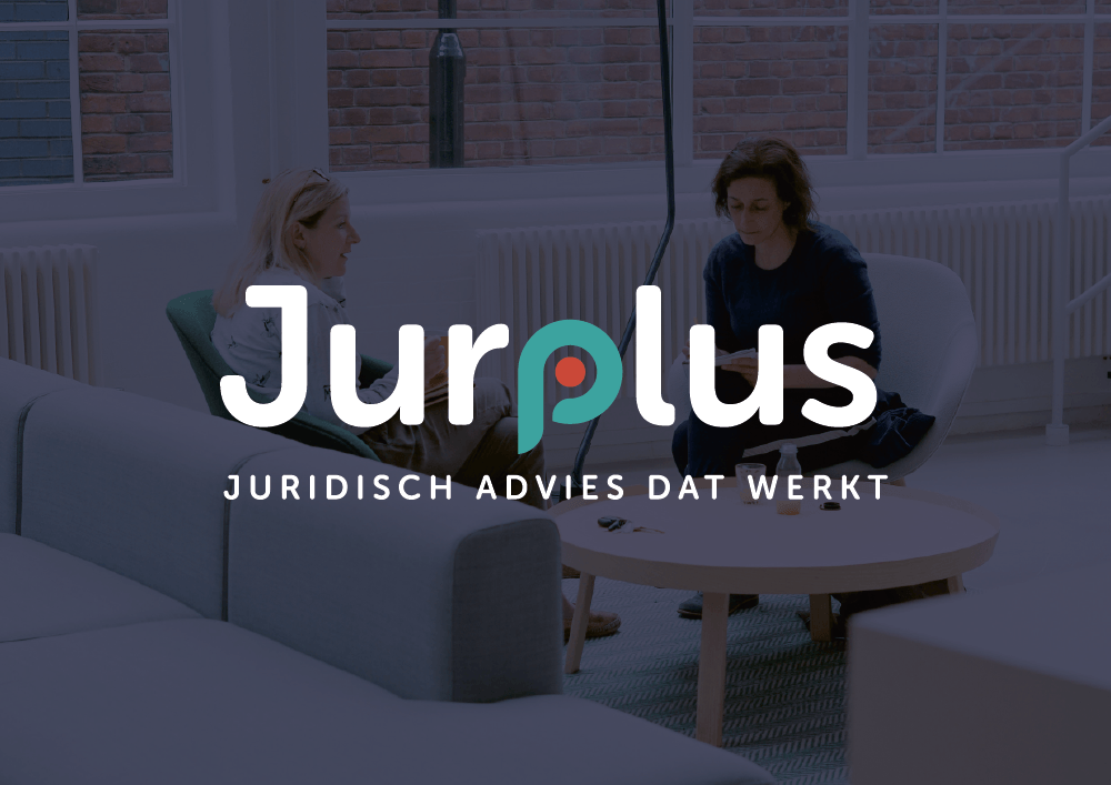 Logo ontwerp Jurplus door grafisch bureau Easybranding uit Kortrijk