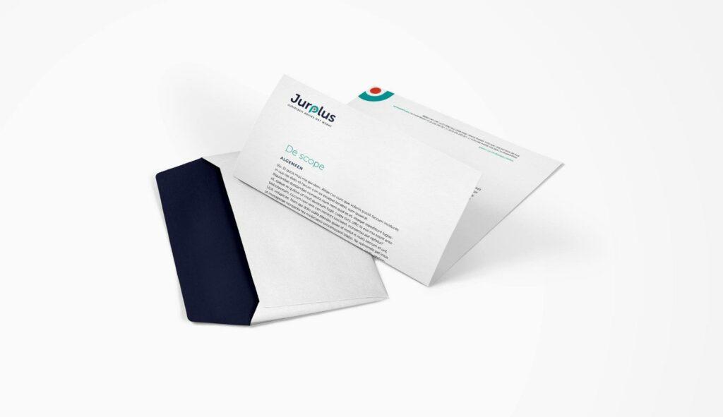"""alt=""""Laat je briefpapier en enveloppen ontwerpen door ons creatief bureau uit Kortrijk"""""""