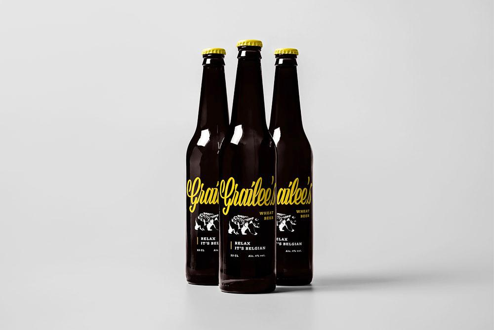 Verpakking van bierflesjes door grafisch bureau Easybranding te Kortrijk. Grafisch ontwerp, graphic design, grafisch bureau, creatief marketingbureau, grafische vormgeving, Easybranding, Kortrijk
