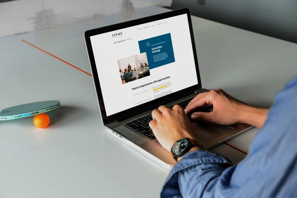 Nieuwe website voor rebranding innovatiebureau in Kortrijk