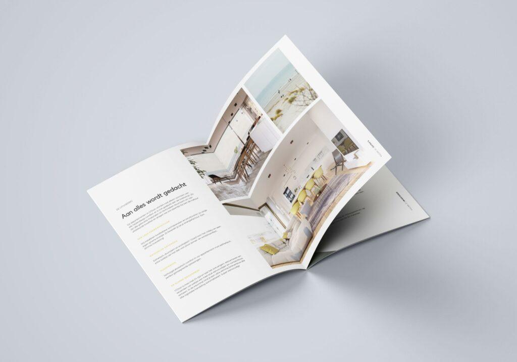 Ontwerp van brochure door grafisch bureau Easybranding uit Kortrijk