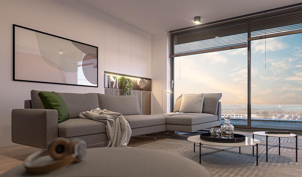 Nieuwbouw appartementen aan de zee in Oostende