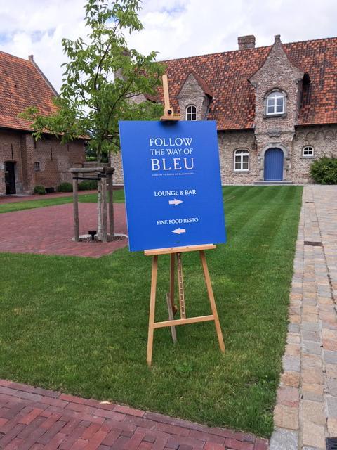 Bleu - lounge en restaurant in Kortrijk