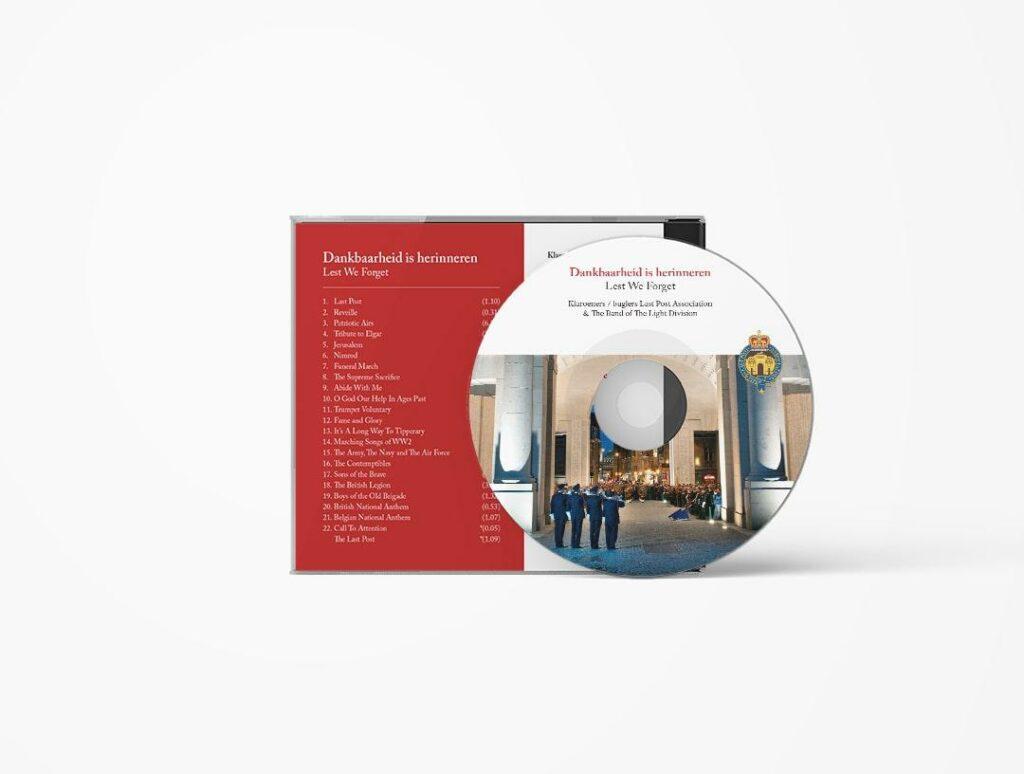 Ontwerp en drukwerk van CD en CD-hoesje door grafisch bureau Easybranding