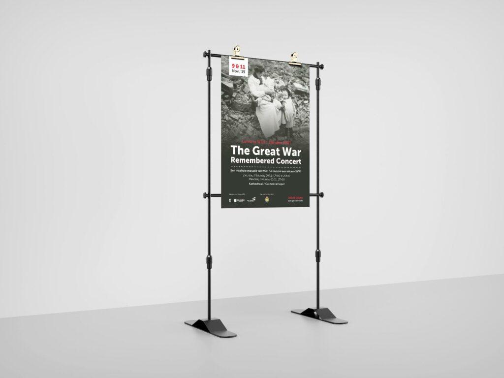 Ontwerp van poster door grafisch bureau Easybranding