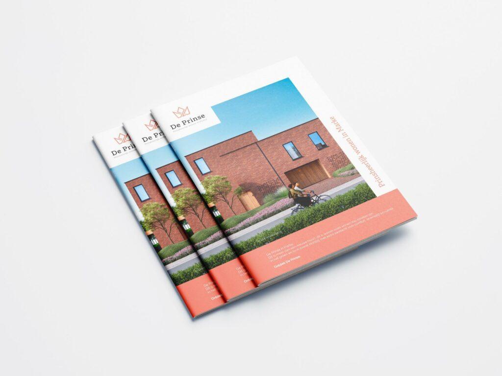 Laat je brochure of magazine ontwerpen door ons creatief bureau uit Kortrijk.