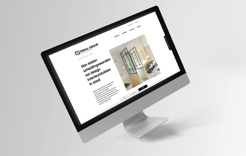 Wil je graag een website voor je bedrijf? Ons grafisch bureau helpt je graag.