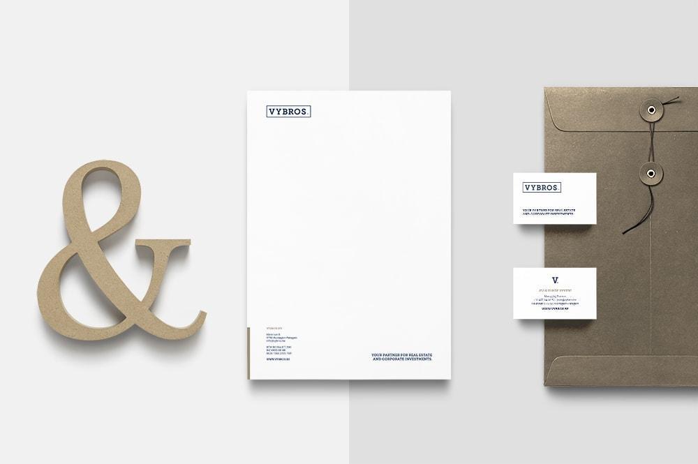 Nieuw huisstijl design door grafisch bureau Easybranding