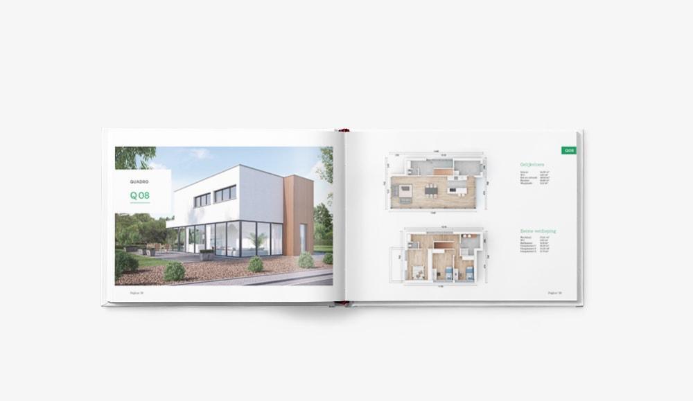 Grafisch ontwerp brochure door Easybranding regio Kortrijk