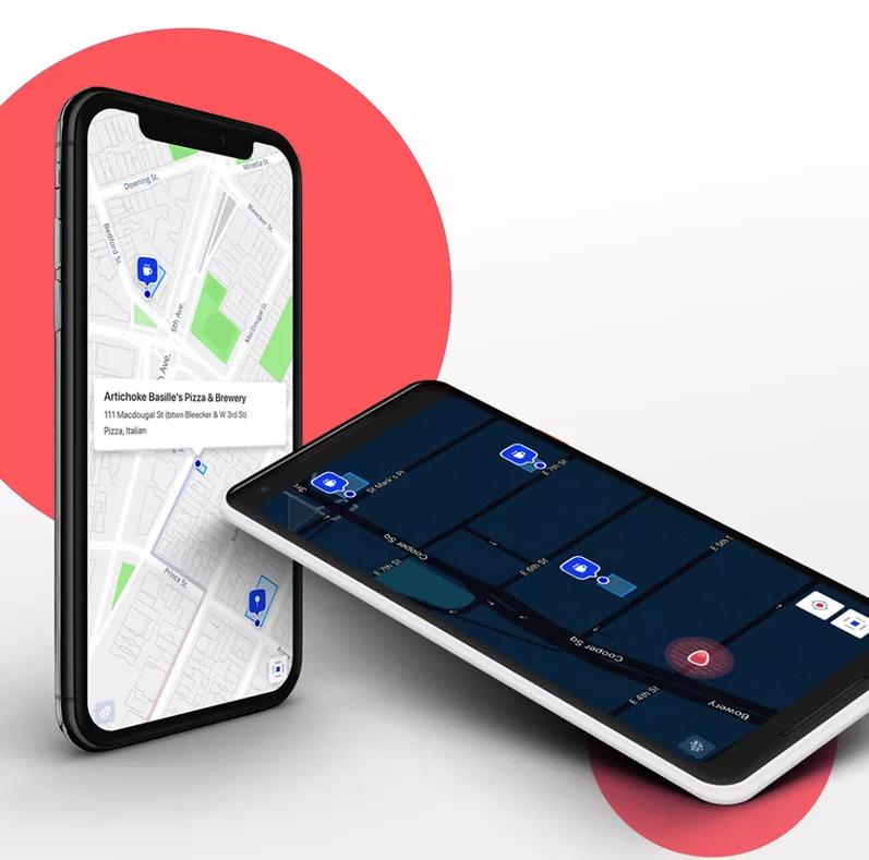 Mapfit ter vervanging van Google Maps kaartje