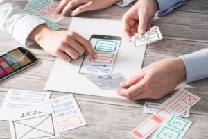 UX design benadering voor ontwerp van website en app