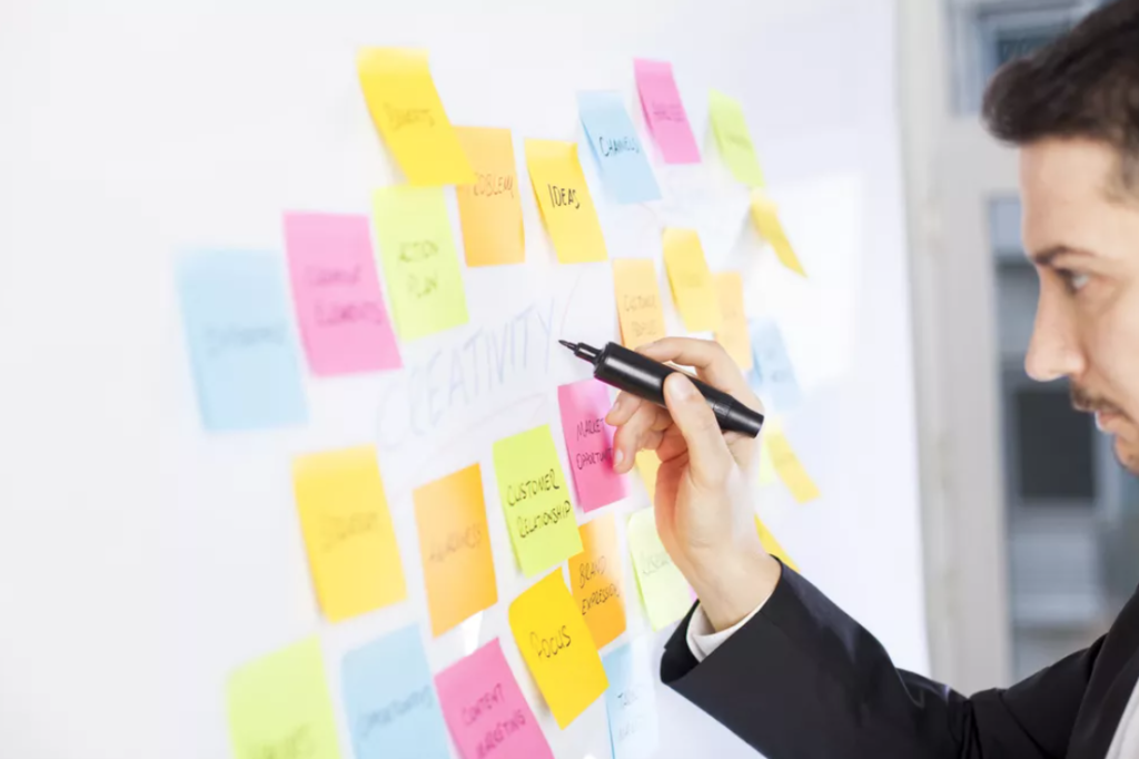 User research proces en mapping van personas in ux design sprint