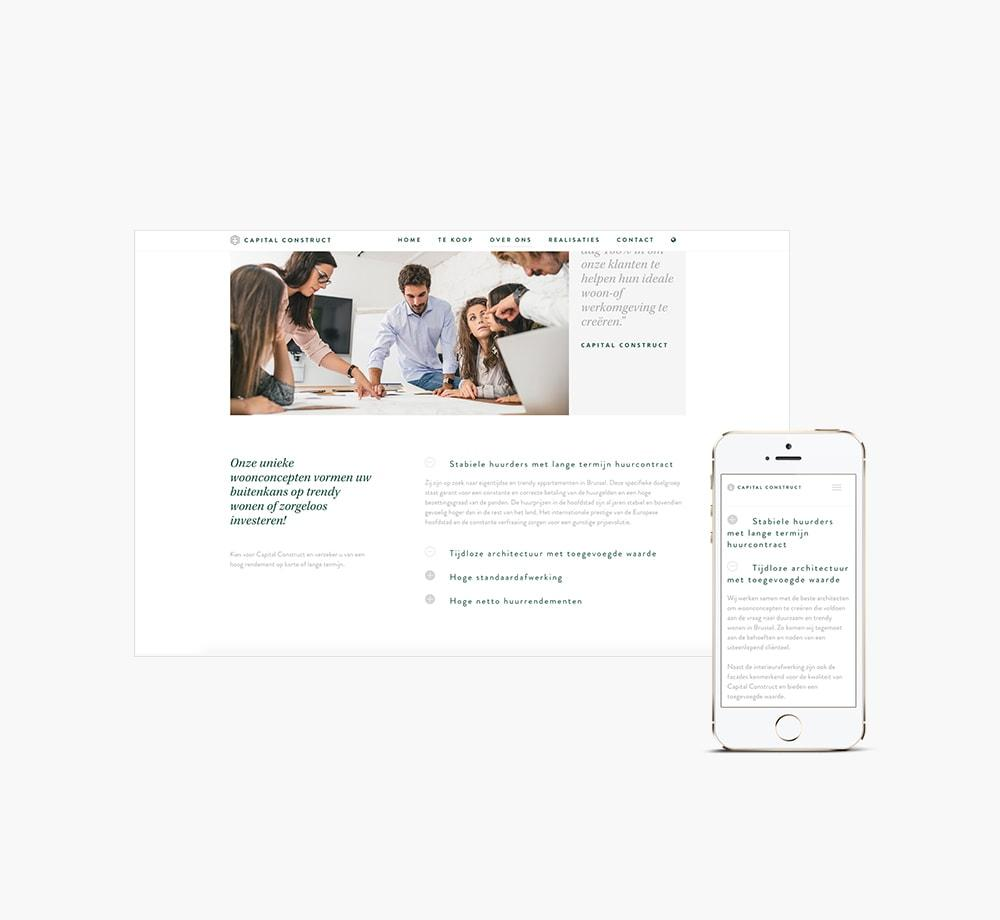 Huisstijl website ontwikkeling grafisch ontwerp door Easybranding