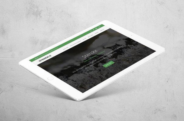Grafisch bureau Easybranding ontwerp nieuwe website voor Sterckx