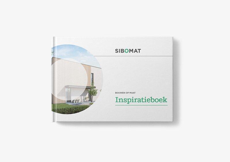 Grafisch ontwerp inspiratieboek huizen door grafisch bureau Easybranding