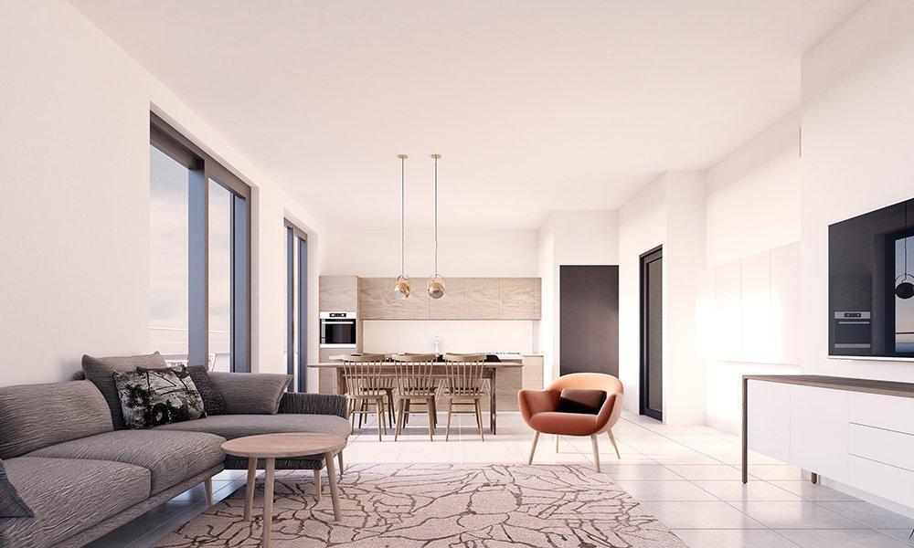 Visualisatie 3D woning Zabra Real Estate