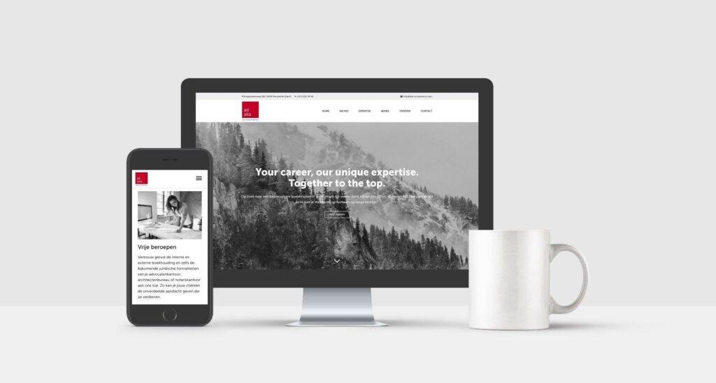Branding & website door creatief bureau te Kortrijk