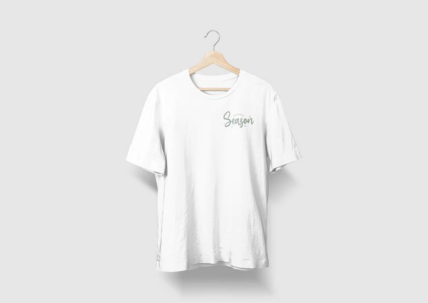 Bedrukken van t-shirt met logo