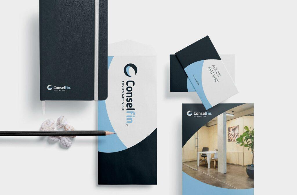 Grafisch ontwerp van huisstijl door Easybranding uit Kortrijk