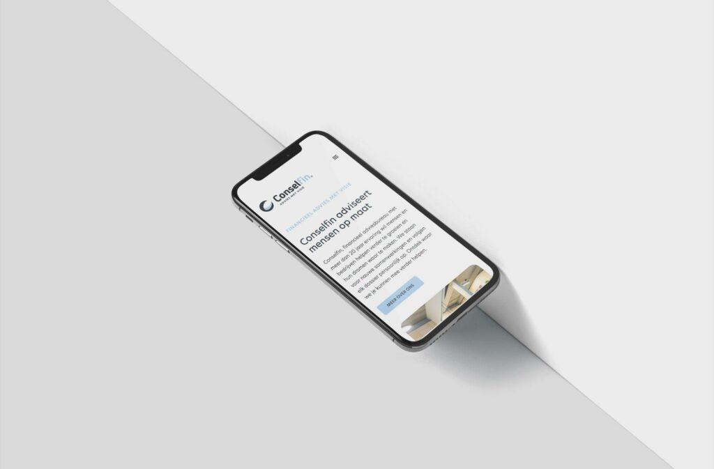 Ontwerp nieuwe responsive website door Easybranding uit Kortrijk