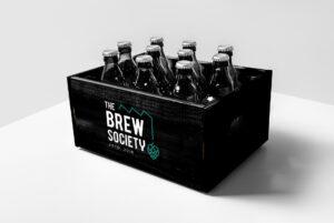 Gepersonaliseerde bierbakken door all-round creatief bureau Easybranding