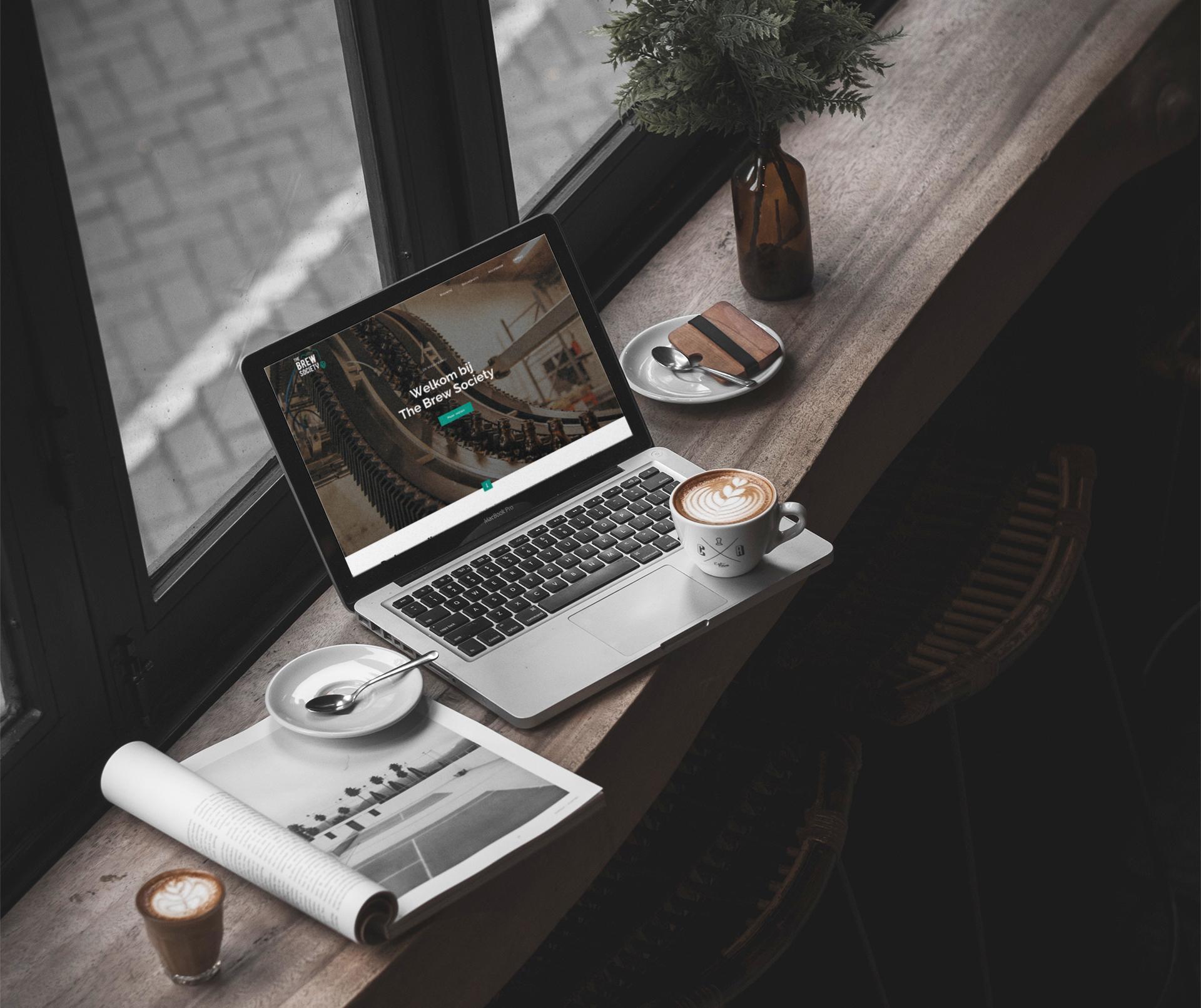 Website design all-round creatief bureau Easybranding uit Kortrijk