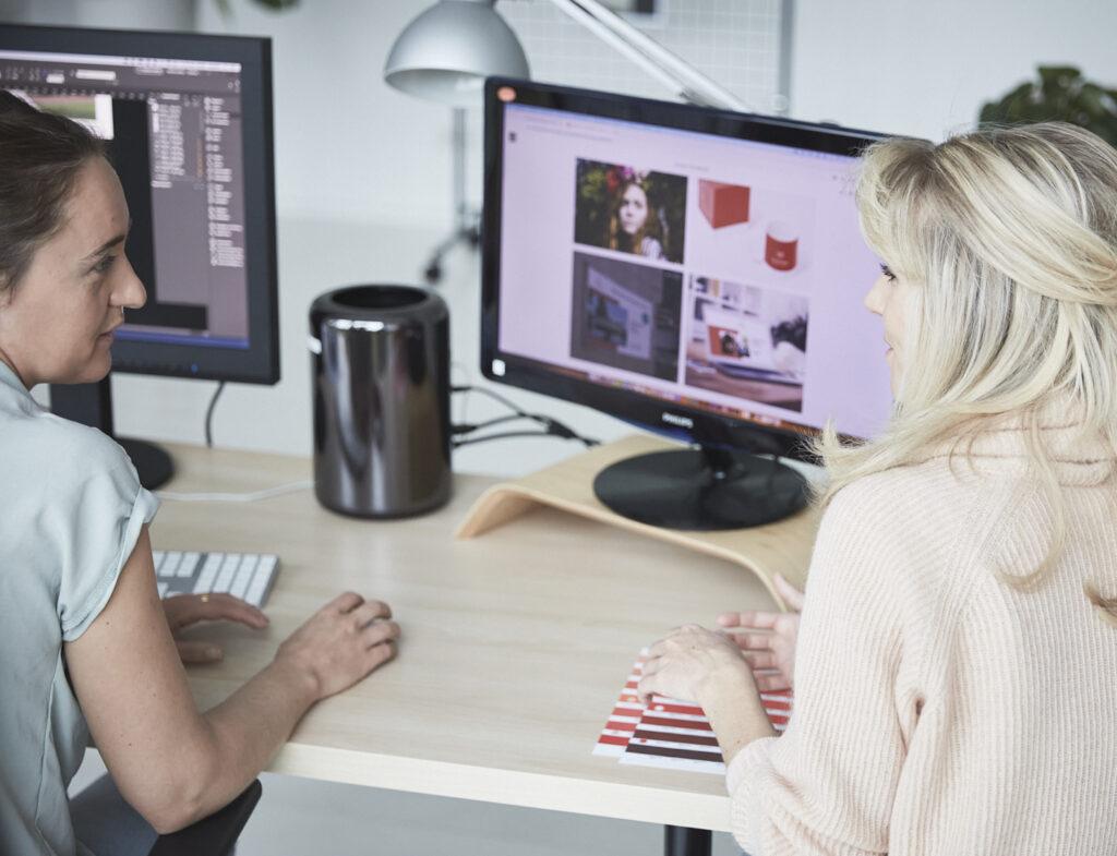 Design & marketing ondersteuning en merkstrategie voor je bedrijf