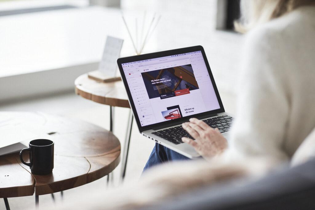 Website traject voor een duidelijk en helder online verhaal