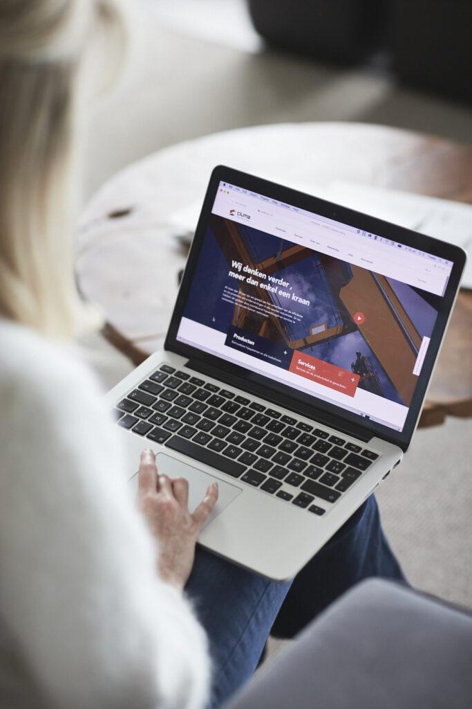 Website ontwikkeling door grafisch bureau Easybranding