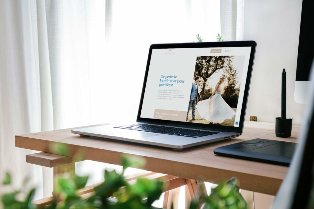 Een nieuwe WordPress website