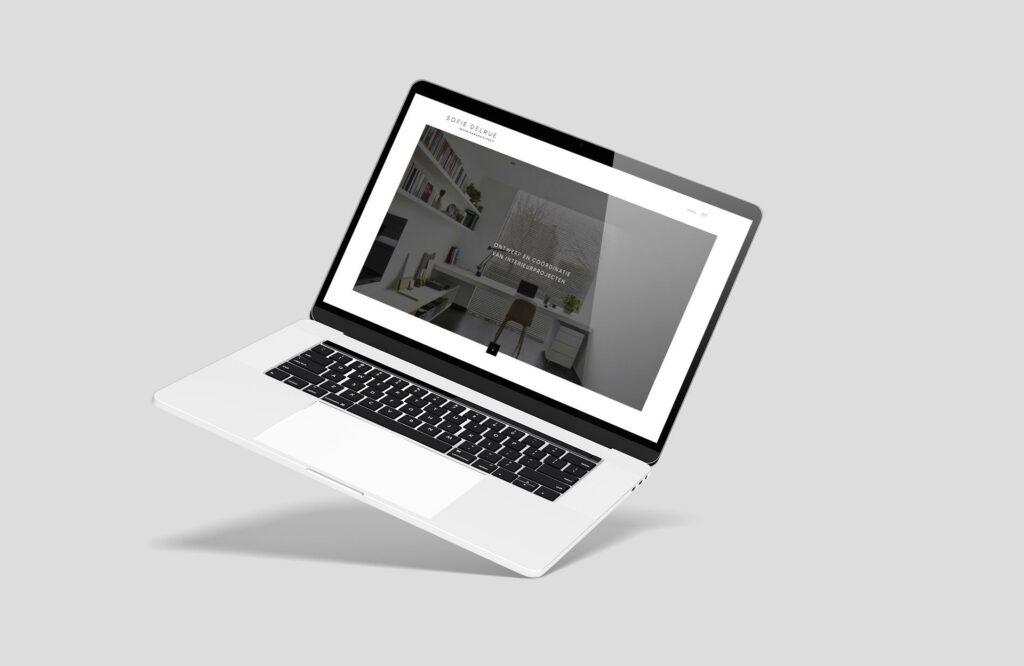 Grafisch ontwerp van responsive website door grafisch ontwerpbureau Easybranding in Kortrijk